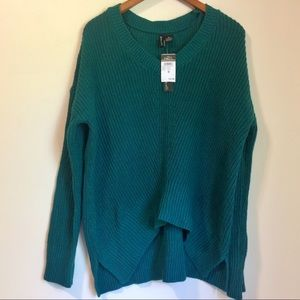 Oversized Forest Green Sweater Rue 21 Size M